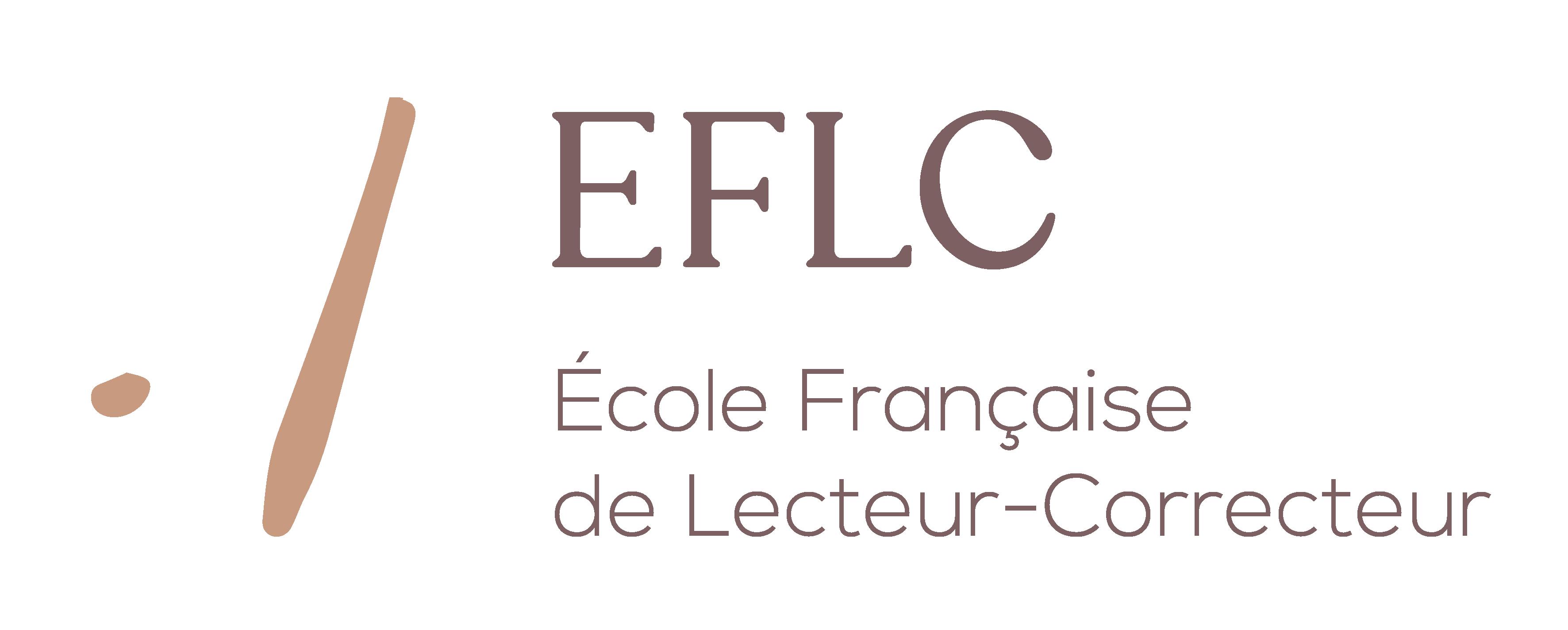 Logo École Française de Lecteur-Correcteur